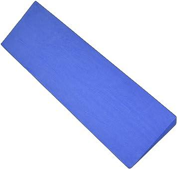 Yoga Direct Foam Yoga Wedge, Blue: Amazon.es: Deportes y ...