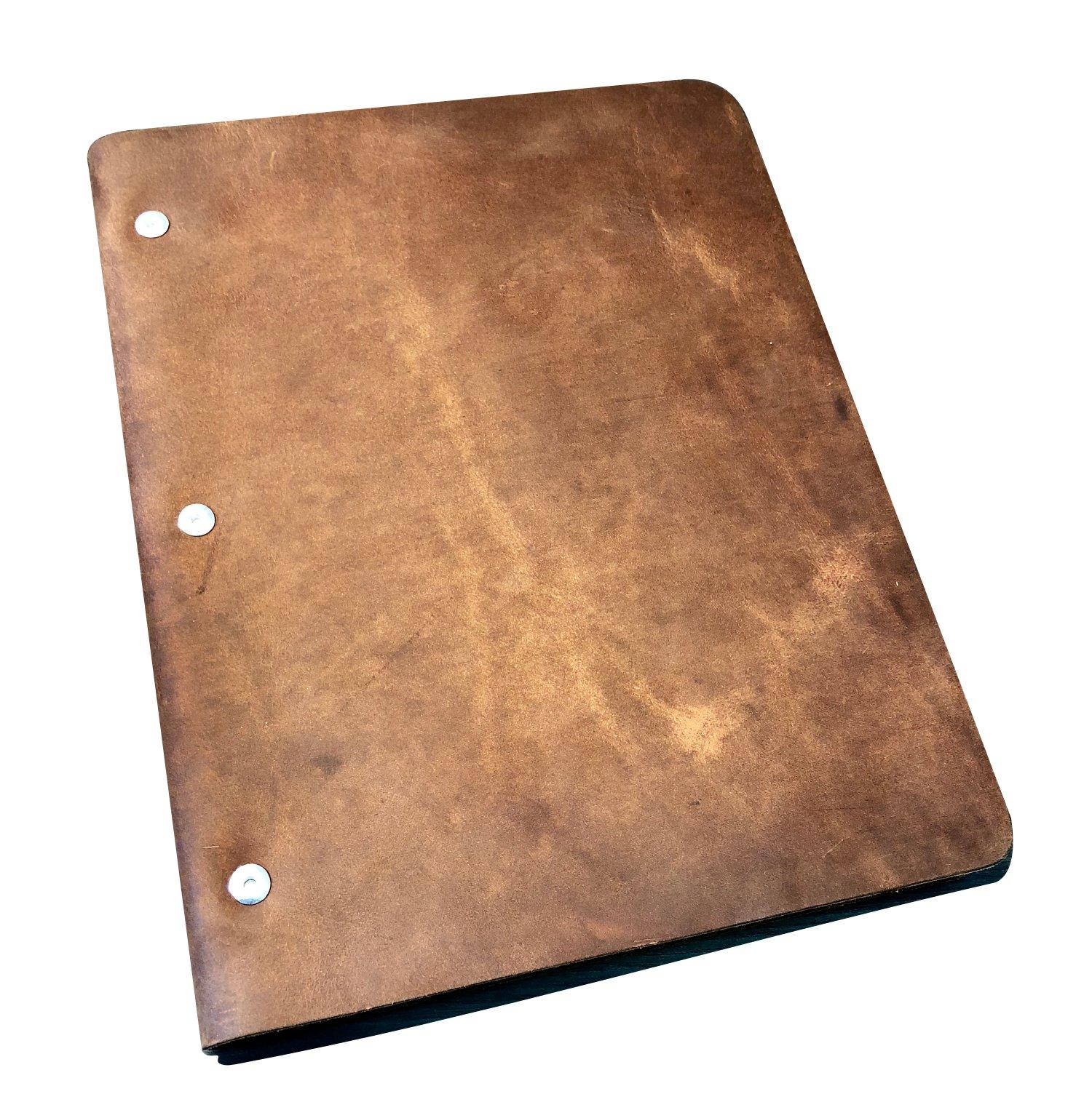 Murdy No. 1 Leather Binder (Slim Cut, Espresso)