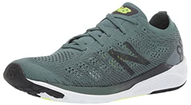 low cost e7d8e aed9d New Balance Men s 890v7 Running Shoe, Dark Agave ORCA Bleached Lime GLO,