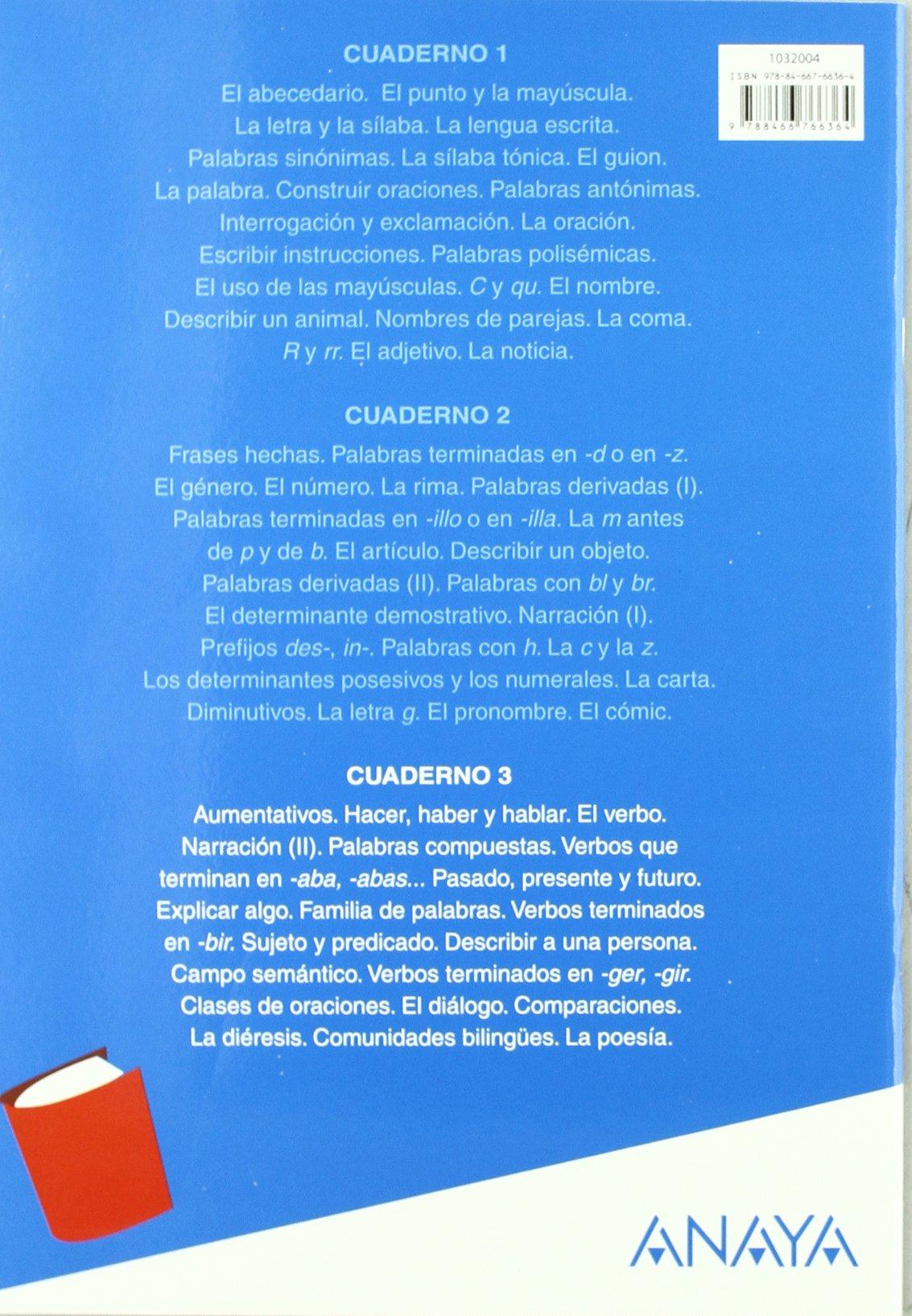 Lengua 3. Cuaderno 3.: María Isabel Fuentes Zaragoza: 9788466766364: Amazon.com: Books