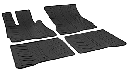 ffc530a1b38 Image Unavailable. Image not available for. Color  Gledring 0501 Custom Fit All  Weather Rubber Floor Mats - 2007-2014 Mercedes Benz S