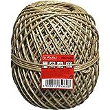 Herlitz 8859605 Bindfaden 100m, 45kg/ 20kg, Farbe braun