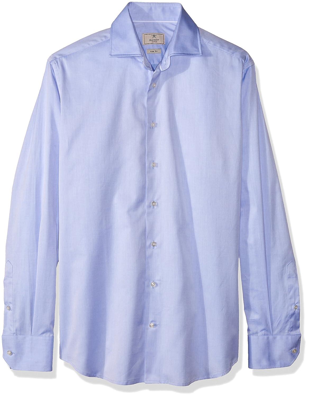 Hackett London Mayf Fine Twill BC, Camisa de Oficina para Hombre