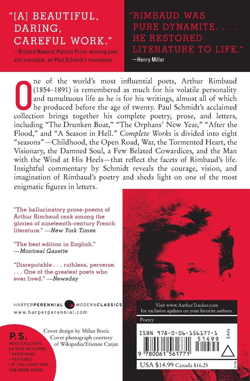 Arthur Rimbaud: Complete Works: Arthur Rimbaud: 8601405253071 ...
