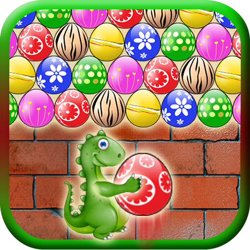 Dinosaur Shooter: Bubble Eggs Jungle Free Game - Totally Addictive!