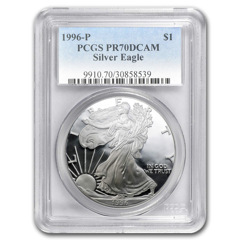 PCGS PR70 DCAM 1996-P American Silver Eagle Proof