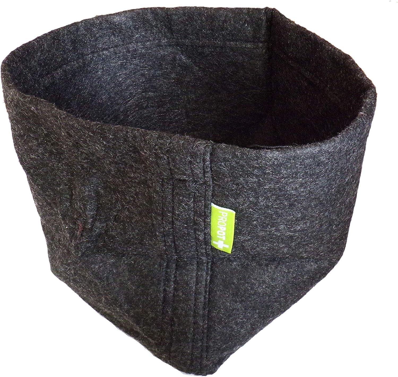 Propot SEM25 - Maceta textil, 7 litros, 18 x 18 x 23 cm