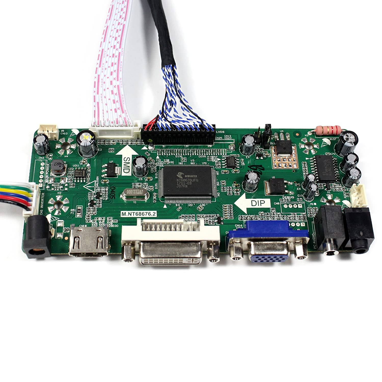HDMI+VGA+DVI+Audio Input LCD Controller Board For HSD190MEN4 M170EN06 17