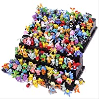 48-144pcs Pokemon Sets, Pokemon Action Figures, Children's Toys, Pikachu Models, Monster Fighting Figures, Birthday…
