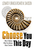 Choose You This Day (English Edition)