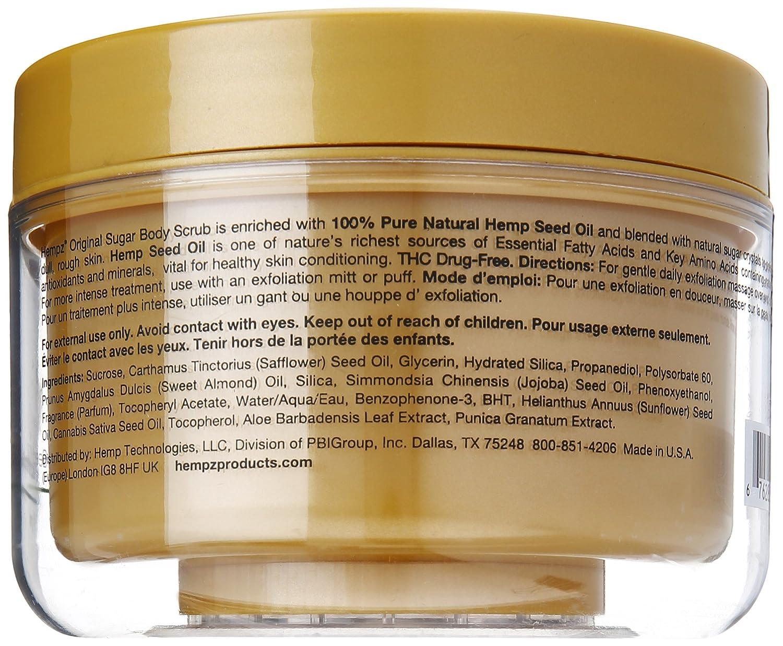 Hempz Original Herbal Sugar Body Scrub, 7.3 Fluid Ounce : Hempz Anti Aging : Beauty