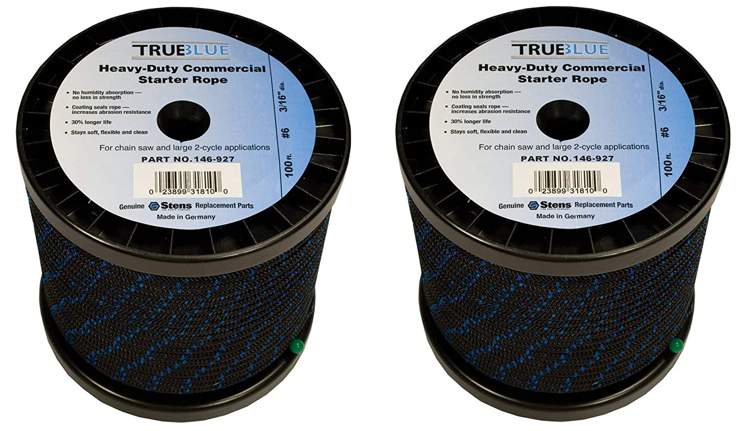 Amazon.com : Stens 146-927 True Blue Starter Rope, 100-Feet : Garden &  Outdoor