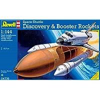 Revell- Discovery + Booster Rockets Maqueta Transbordador Espacial