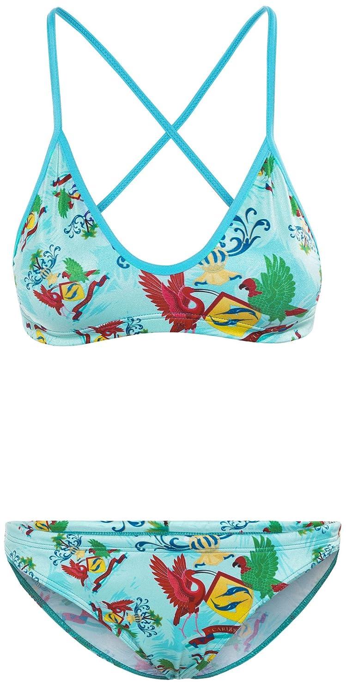 Turbo Caribean Bikini turquesa/Multicolor 2017 Bikini mujer, Blue Sky: Amazon.es: Deportes y aire libre