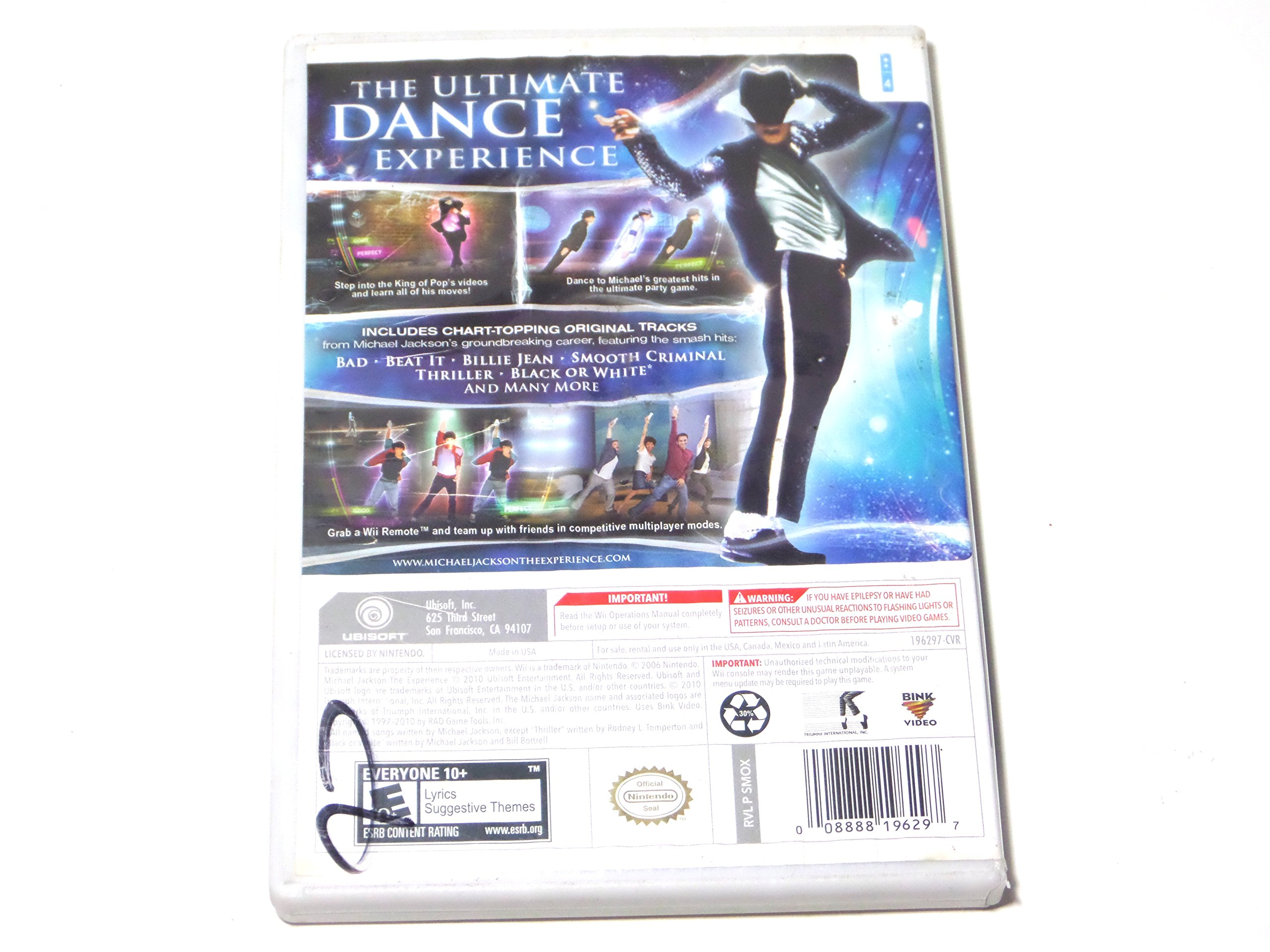 Amazon com: Michael Jackson The Experience LIMITED EDITION