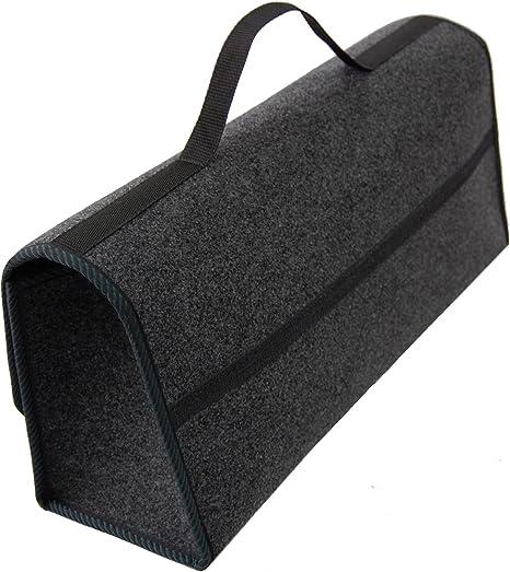 Rimers Trunk Bag Car Bag Zubehör Tasche Auto Boot Organizer Toolbag 50x16x21 Cm Grün Klettverschluss Auto