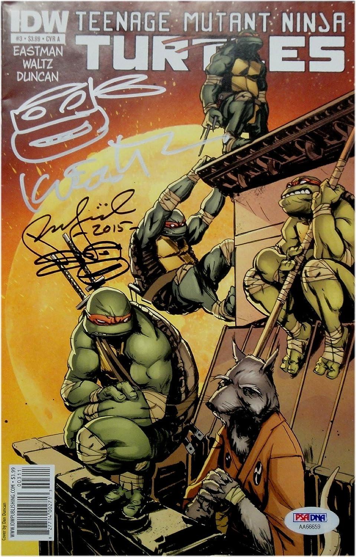 Peter Laird & Kevin Eastman Auto Teenage Mutant Ninja ...