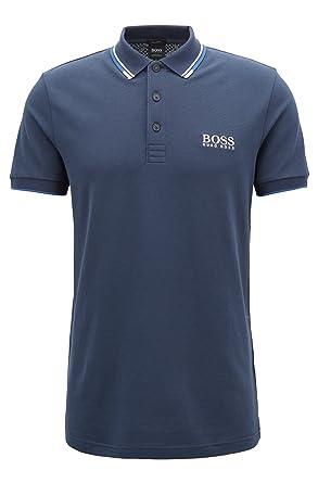 f8866242e Amazon.com: Hugo Boss Men's Polo Shirt (S, Black): Clothing