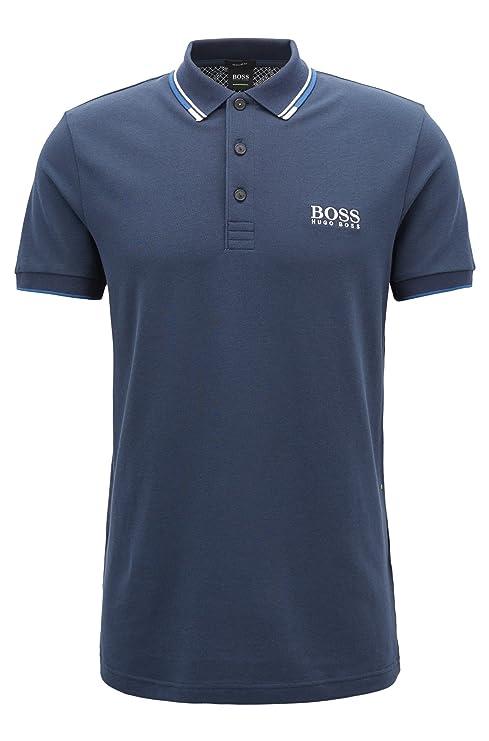 d7bcf0f47 Amazon.com: Hugo Boss Men's Polo Shirt (S, Black): Clothing