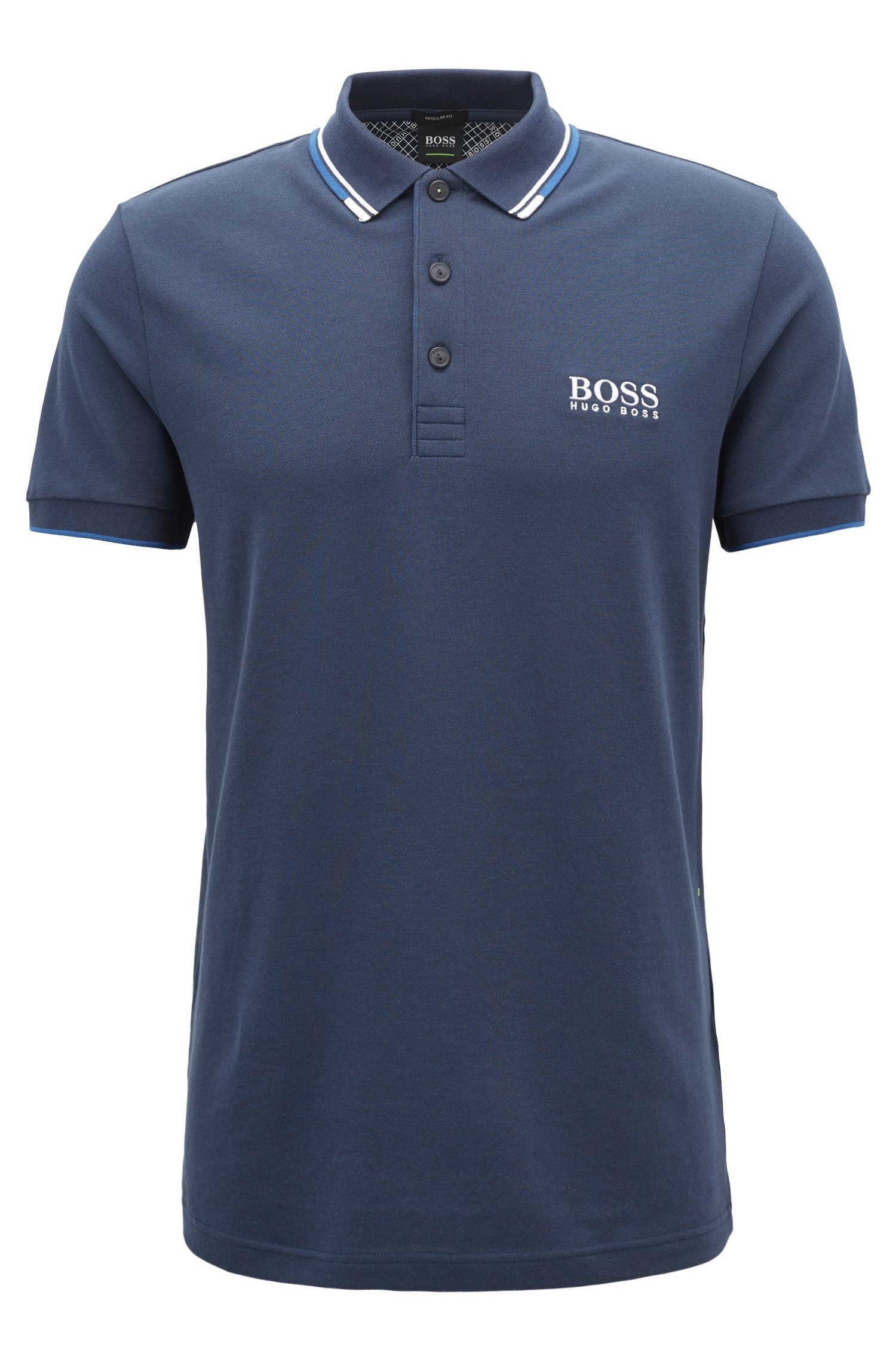 Hugo Boss Men's Polo Shirt (L, Navy)