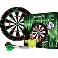 XQ Max Michael van Gerwen Flocked Dartboard Starter Set Including Board and Darts