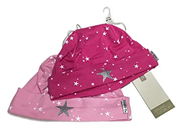 44d9a1f99 Name It Baby Hat Titia Pack of 2 Pink and Pink Star Size 45 47 ...