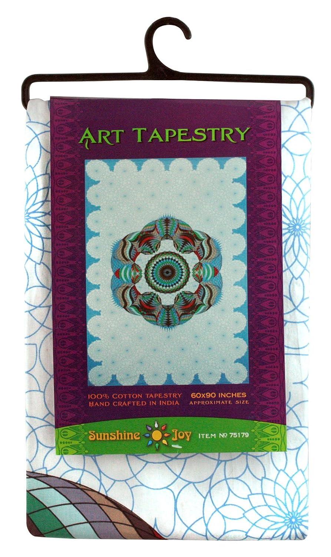 Beach Sheet Sunshine Joy Love Lotus Sky Geometric Design Tapestry 60x90 Inches Hanging Wall Art 75179