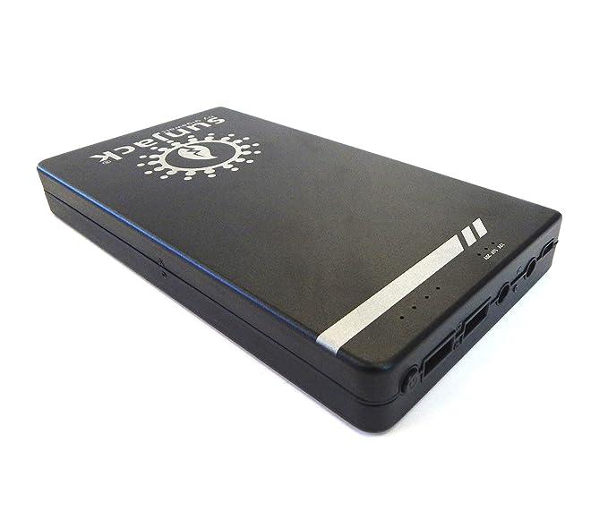 SunJack 45000 mAh portátil cargador de batería externa Power Bank (5 V/12 V