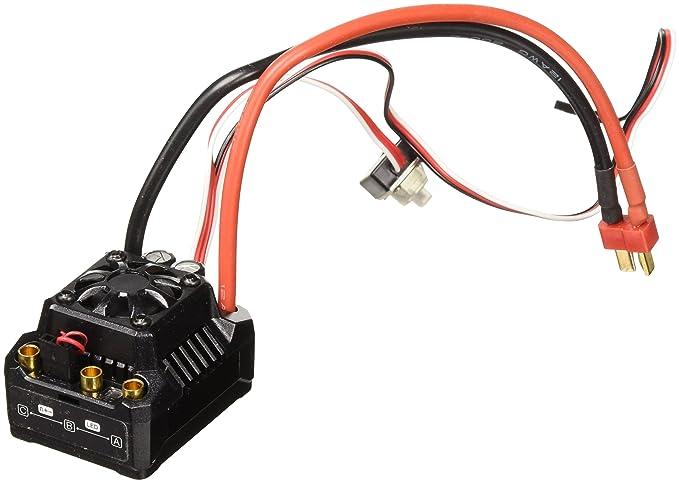 Amazon com: Team Redcat Thor MAX-10 80A ESC for 11 1 V