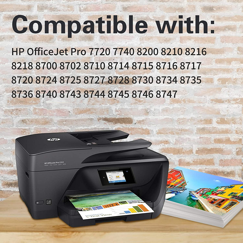 952XL Lot Ink Cartridge For HP OfficeJet Pro 8702 8715 8717 8734 8735 8746 8747