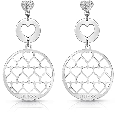 5186e8752 Guess Women's Jewellery Earrings Jamila Trendy Cod. ube85015: Amazon.co.uk:  Jewellery