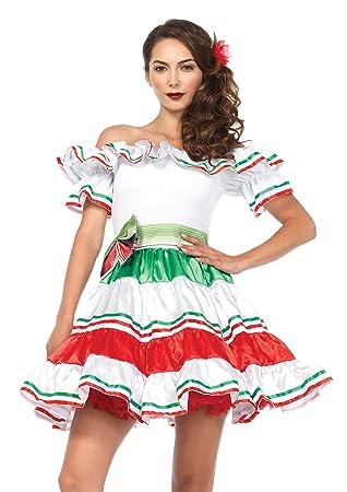 Generique - Disfraz de Señorita Mexicana Sexy Mujer XL: Amazon.es ...