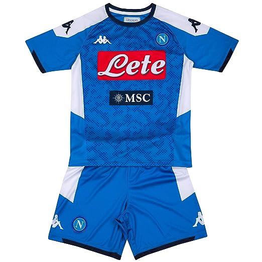 Amazon com : Ssc Napoli Italian Serie A Boys Junior Home Match kit
