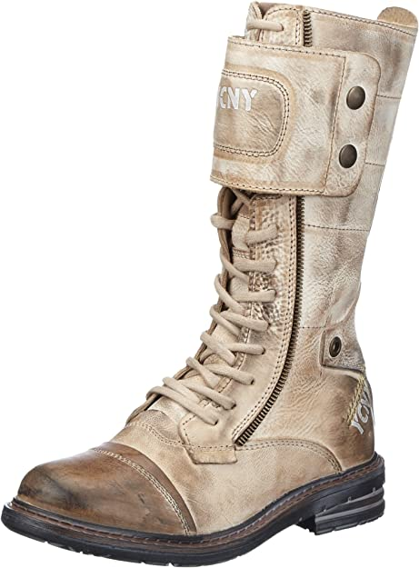 Yellow Cab SOLDIER Damen Combat Boots