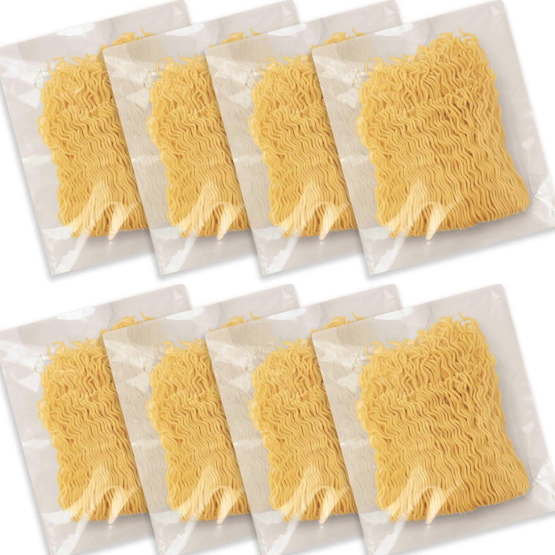 Hakubaku Restaurant Style Fresh Noodle, Ramen Yakisoba Stir Fry, KAEDAMA ,8 pack x 3.5 oz