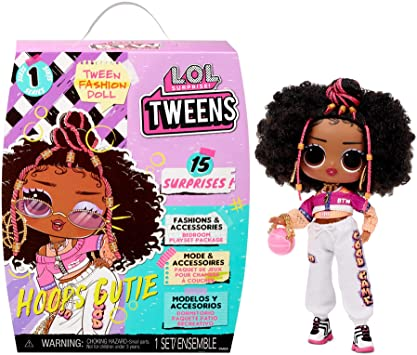 LOL Surprise Tweens Fashion Doll Hoops Cutie with 15 Surprises Including Outfit and Accessories for Fashion Toy