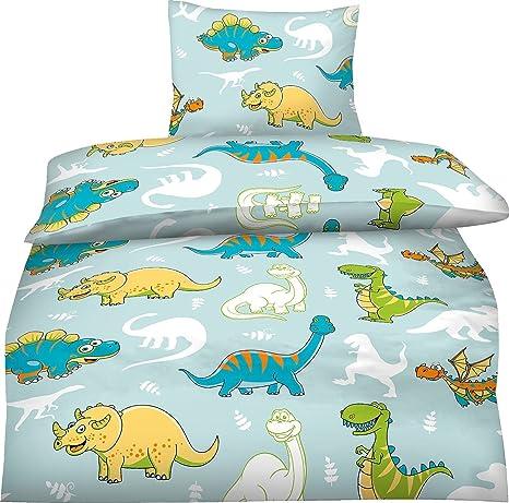 Bettwäsche Kinder 100x135 Dinosaurier Amazonde Küche Haushalt