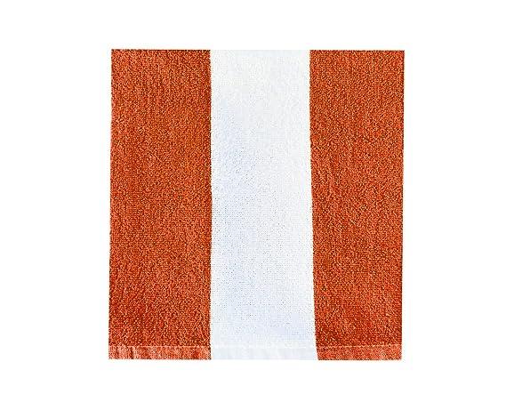 Juego de toallas de playa de algodón con rayas de Cabana, tamaño grande, de lujo, 76 cm de ancho x 152 cm de largo, suave y absorbente de peluche, ...