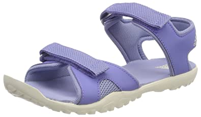 adidas Unisex-Kinder Sandplay Od Peeptoe Sandalen, Blau (Aeroaz/Azutiz/Aerver 000), 33 EU