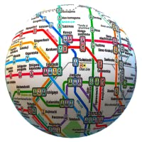 Cartes de transport public hors ligne - Le monde entier