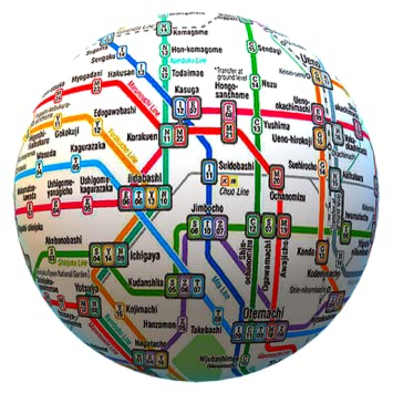 Whole Map Of The World.Public Transport Maps Offline The Whole World