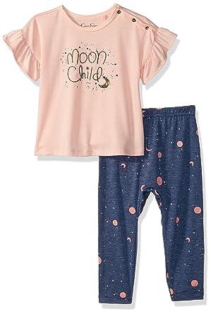 Amazon Com Jessica Simpson Baby Girls Printed Fashion Top And