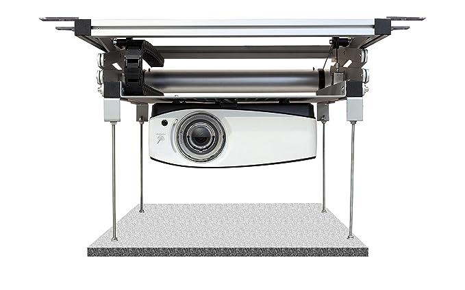 Celexon Proyector Techo Ascensor PL1000 – 120 V | motorizado ...