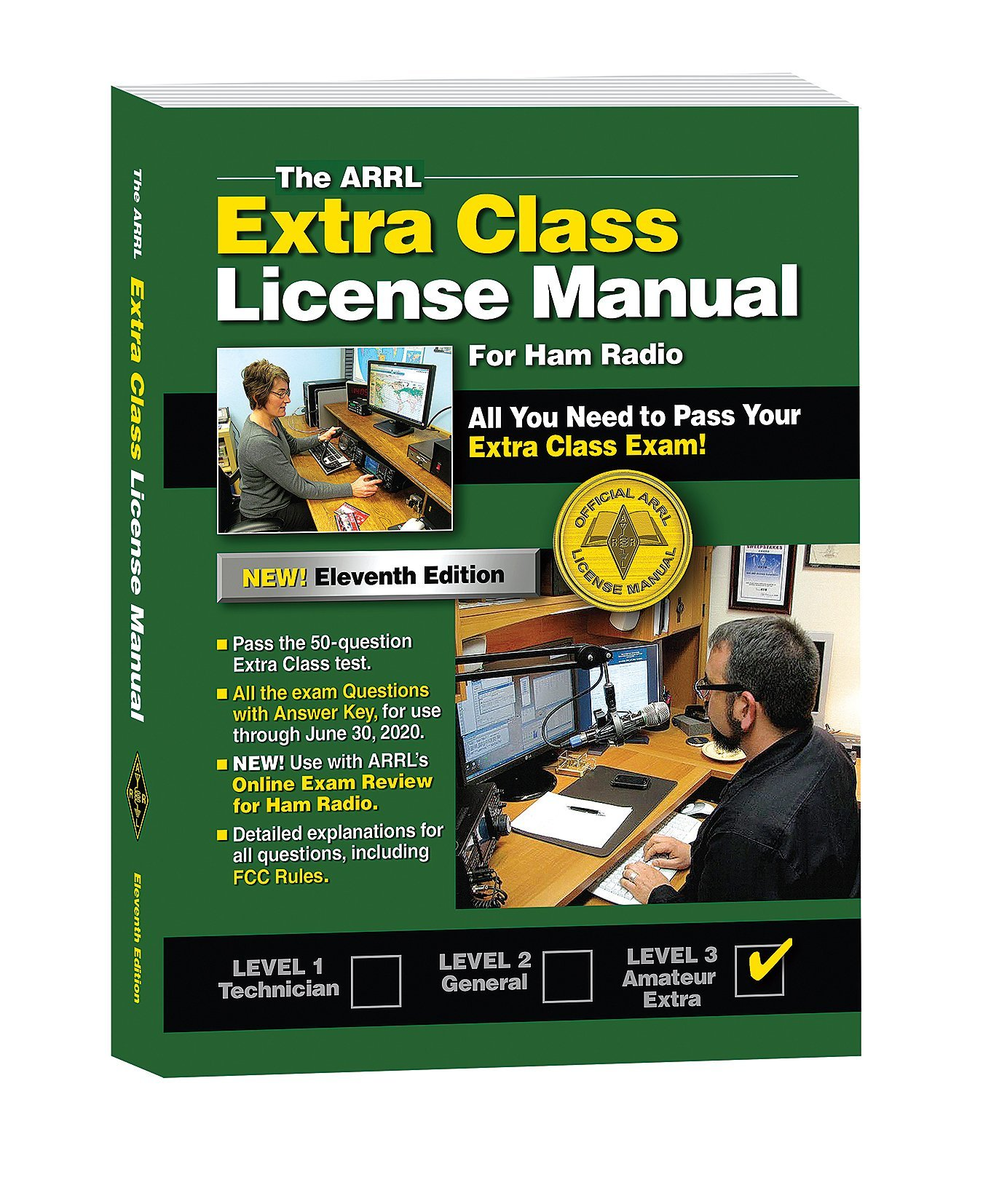 The arrl extra class license manual arrl inc 9781625950451 amazon the arrl extra class license manual arrl inc 9781625950451 amazon books fandeluxe Image collections
