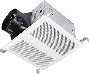 KAZE APPLIANCE Ultra Quiet Bathroom Exhaust Ventilation Fan (120 CFM, 0.3 Sone)