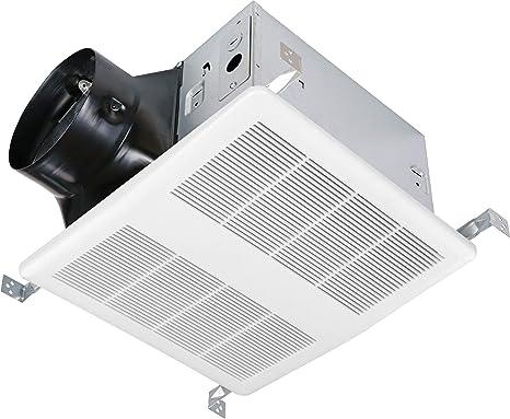 Amazon Com Kaze Appliance Ultra Quiet Bathroom Exhaust Ventilation Fan 120 Cfm 0 3 Sone Kitchen Dining