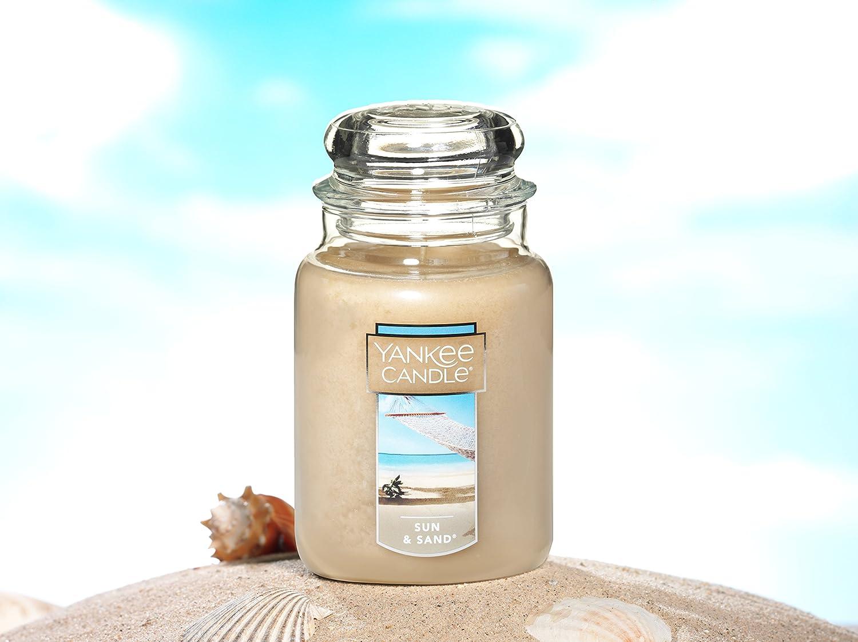 Sun /& Sand/® Yankee Candle Company 1106733Z Yankee Candle Large Jar Candle