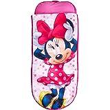 Readybed Minnie Mouse Cama Hinchable y Saco de Dormir Infantil Dos en Uno, Poliéster, Pink, Individual, 75x75x90 cm