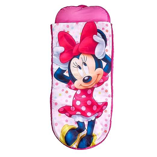 Readybed Minnie Mouse Cama Hinchable y Saco de Dormir Infantil Dos ...
