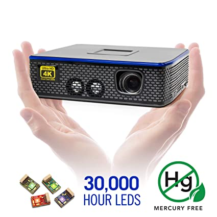 Amazon.com: AAXA 4K1 Proyector LED de cine en casa ...